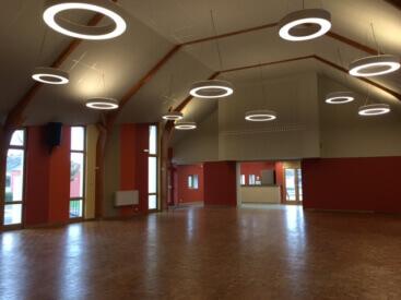 Salle des fêtes de Saint Marcel (rénovation)